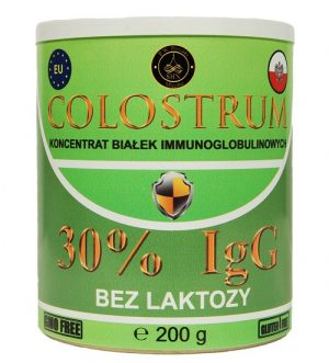 colostrum bez laktozy
