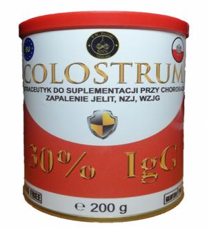 colostrum nutraceutyk 200g zapalenie jelit