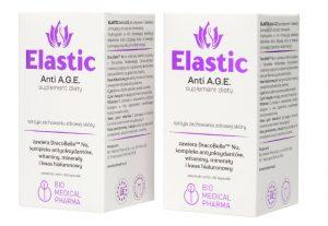 ELASTIC Anti A.G.E. 120 kapsułek - zestaw