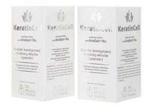 KeratinCell 120 kapsułek - zestaw
