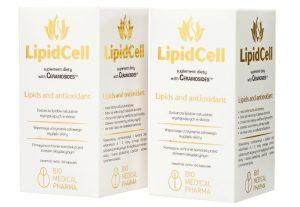 LipidCell 120 kapsułek zestaw