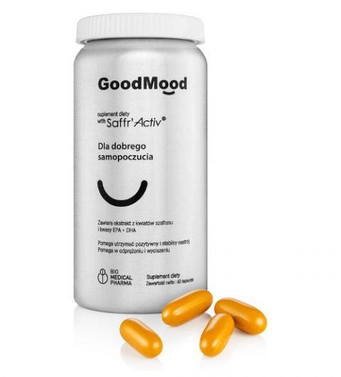 GoodMood kapsułki - suplement diety na dobre samopoczucie