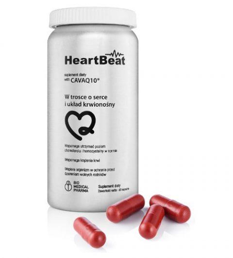 heartBeat z CavaQ10 - wspomaga zdrowie serca